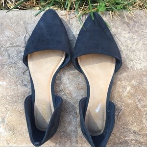 Old Navy pointed-toe suede flats!